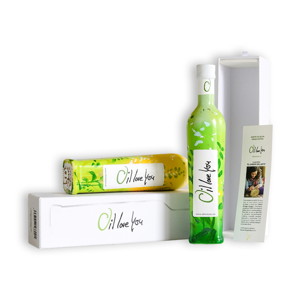 Aceite de oliva virgen extra - Colección EL SABOR DEL ARTE - Oilloveyou