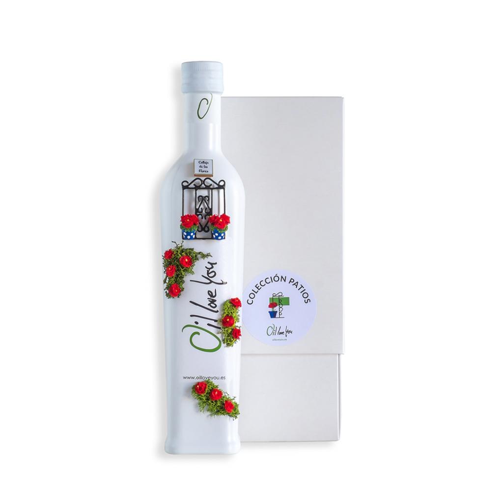 Botella AOVE Colección PATIOS DE CÓRDOBA - REJA - Oilloveyou