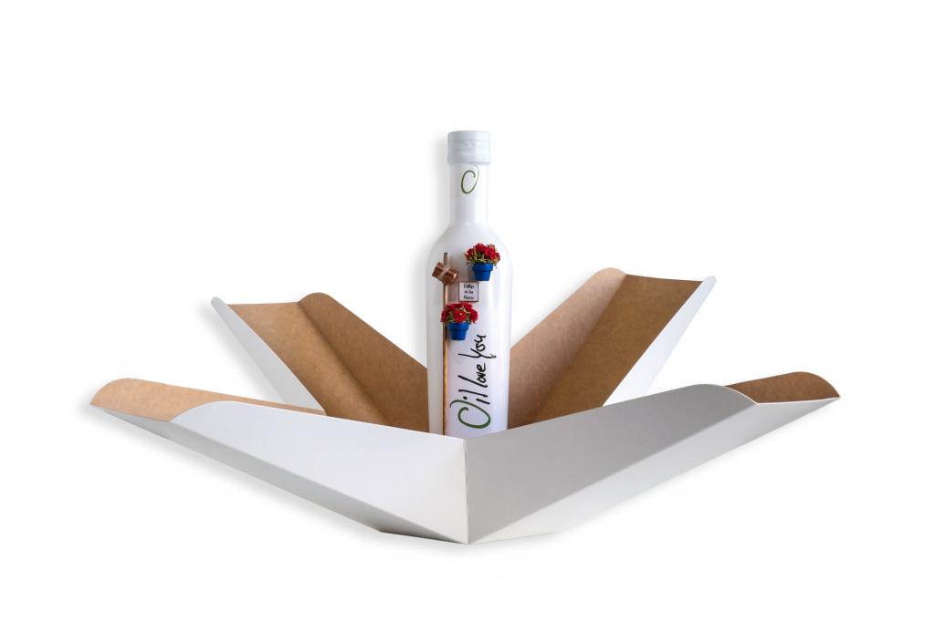Botella y Caja AOVE Colección PATIOS DE CÓRDOBA - Oilloveyou