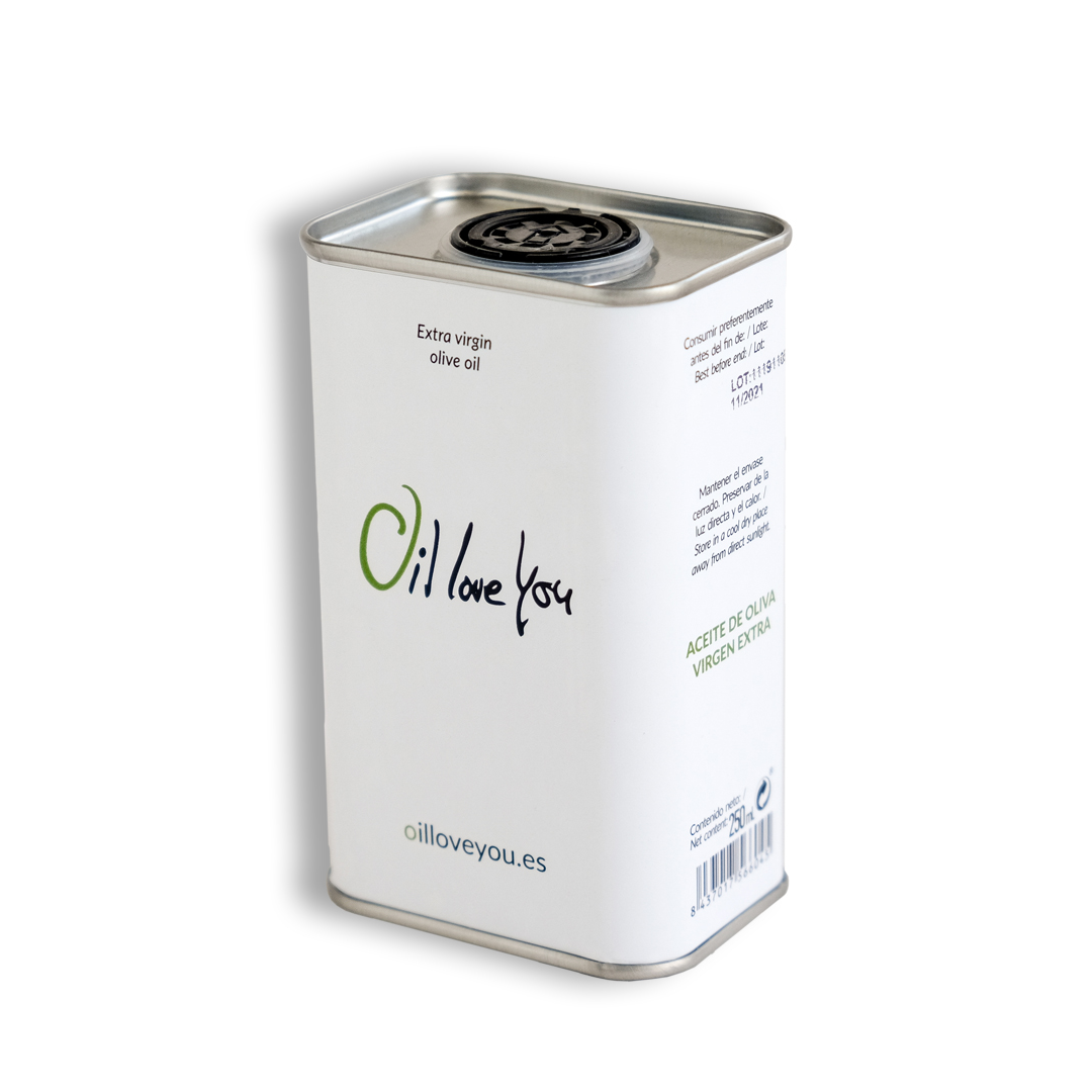 Can Oilloveyou Extra Virgin Olive Oil Bottle 250ml - profile