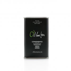 Can of EVOO Oil Love You flavored with black truffle 250 ml oilloveyou (3)