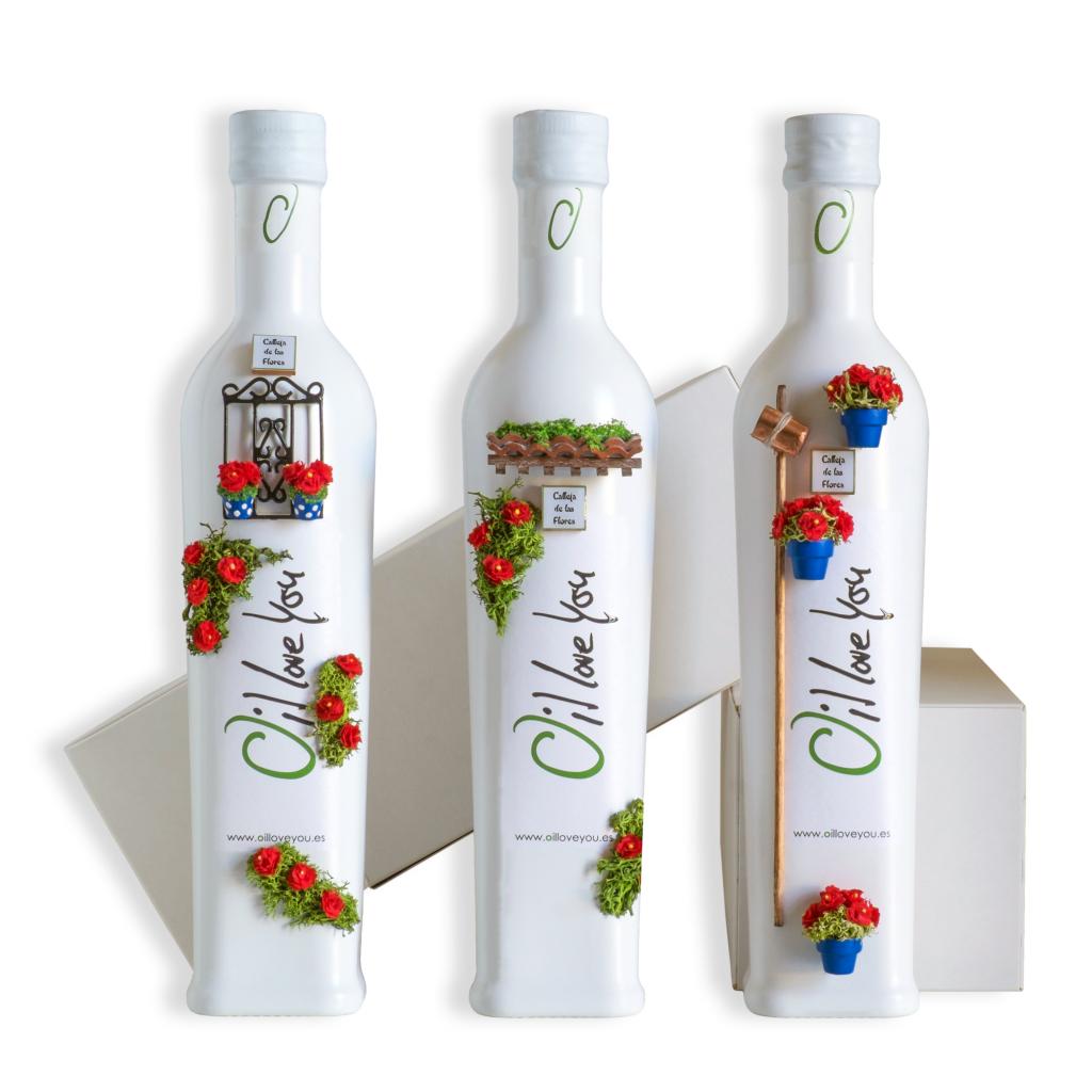 PACK EVOO Bottle PATIOS DE CORDOBA Collection - Oilloveyou